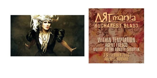 Sâmbătă, 3 septembrie, începe sezonul concertelor mari de toamnă la prima ediție ARTmania Bucharest Blast