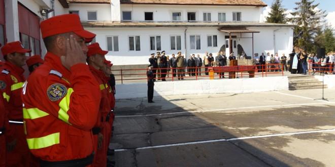 Sărbătoarea pompierilor din România, marcată în judeţul Harghita