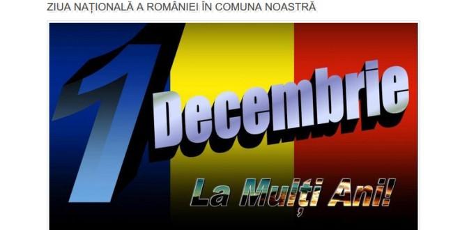 Manifestări prilejuite de Ziua Naţională a României
