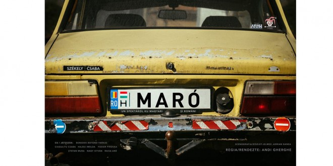Invitaţie la MaRó, un spektákol ku magyari şi români…
