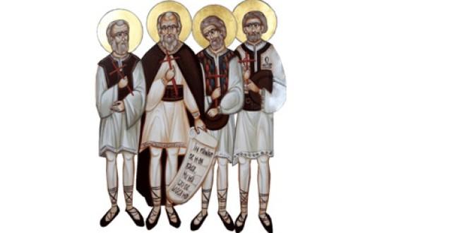Sfinţii Mucenici năsăudeni: Atanasie Todoran din Bichigiu, Vasile din Mocod, Grigore din Zagra şi Vasile din Telciu