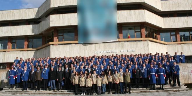 Jandarmii harghiteni au sărbătorit un sfert de veac de existenţă