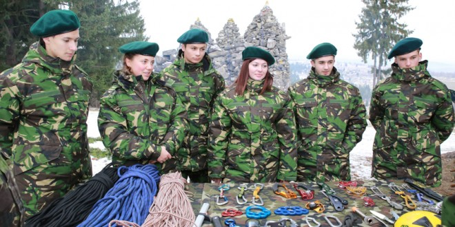 """""""Ziua Ştafetei"""" la Batalionul 24 Vânători de Munte """"General Gheorghe AVRAMESCU"""""""