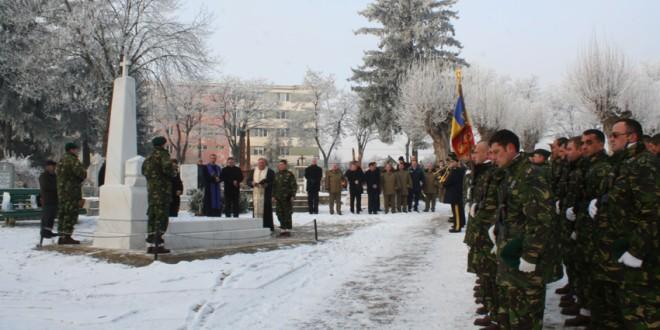 Ceremonii de comemorare a eroilor din judeţul Harghita