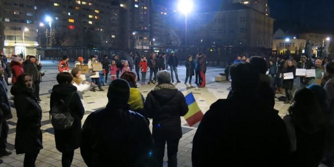 Weekend cu proteste şi protestatari
