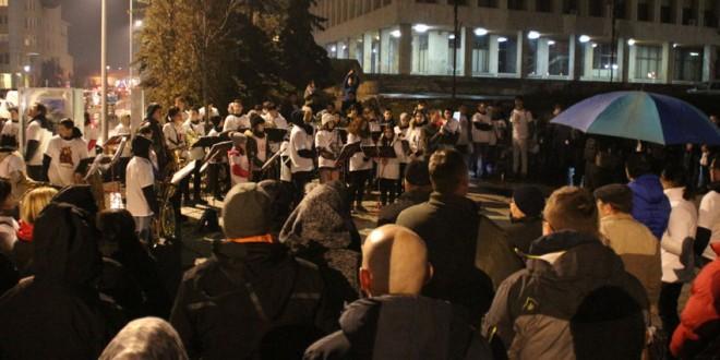 Protest de susţinere a berii Csíki Sör