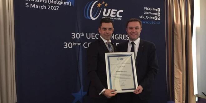 Eduard Novák, premiat de federaţia europeană de ciclism!