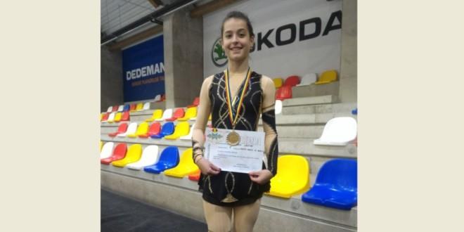 PATINAJ ARTISTIC: Andreea – campioană naţională