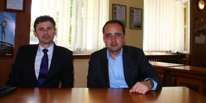 Cristian Buşoi, unul dintre candidaţii la preşedinţia PNL, a fost în vizită în Topliţa