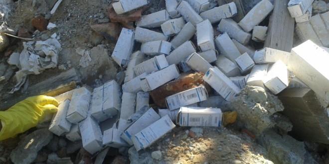Miercurea-Ciuc: 3 tone de deşeuri medicale periculoase, descoperite de poliţişti în urma a trei percheziţii