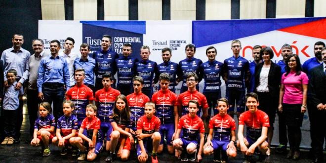 A fost lansată, oficial, prima academie de ciclism din România