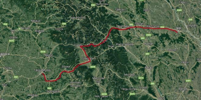 Marş de susţinere a construcţiei autostrăzii Târgu Mureş – Iaşi – Ungheni