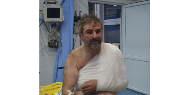 Al 17-lea harghitean atacat de urs în acest an