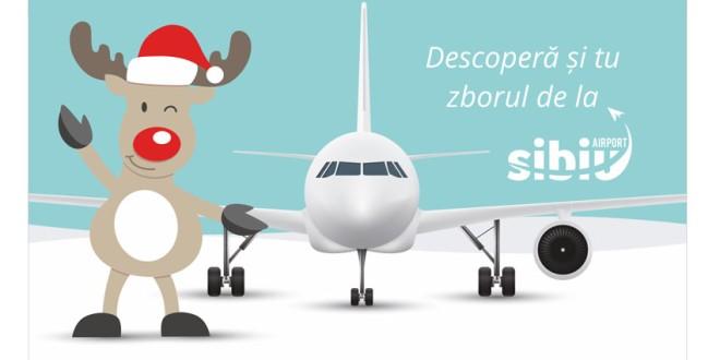Povestea Aeroportului Internațional Sibiu continuă alături de voi