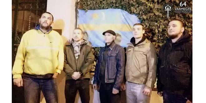 Ambasada României din Budapesta, pângărită de extremişti sub ochii blajini ai poliţiei maghiare
