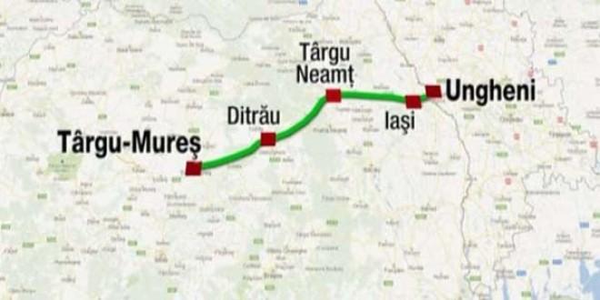 Compania de Drumuri aruncă în aer Autostrada A8 Iaşi – Târgu Mureş