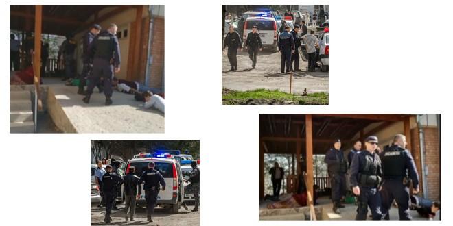 11 persoane au fost reținute de polițiști după incidentele din curtea Spitalului Județean
