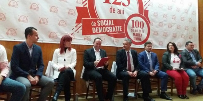 PES activists România a celebrat 125 de ani de social-democraţie la Bucureşti, Alba Iulia şi Chişinău