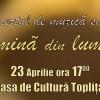Luni, la Topliţa:Concert de muzică sacră