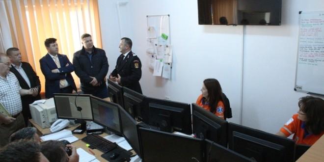 Ieri a fost inaugurat noul sediu al dispeceratului integrat ISU – SAJ
