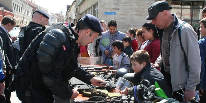 Ziua Jandarmeriei Române, marcată în judeţul Harghita
