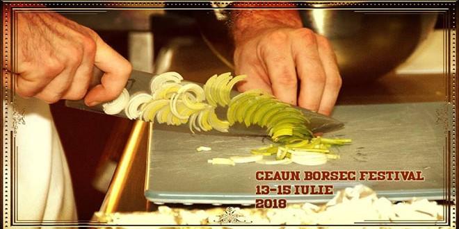 Concurs de gătit la Ceaun Borsec Festival