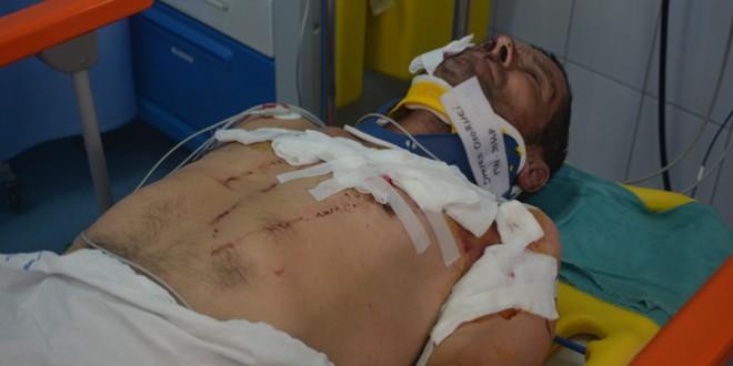 Sâncrăieni: Bărbat aflat la cosit, atacat de ursoaică