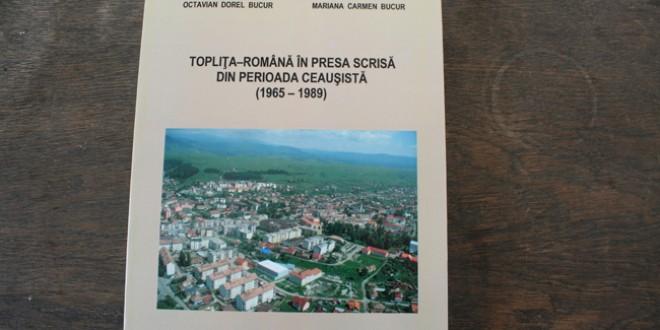 Topliţa a rămas mai săracă. A pierdut pe unul dintre fiii săi cei mai distinşi: profesorul Dorel Octavian Bucur