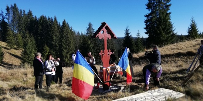 Centenar: Troiţă în amintirea eroilor care s-au jertfit pentru România Mare