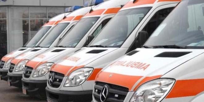 Cinci noi ambulanţe vor deveni funcţionale săptămâna viitoare