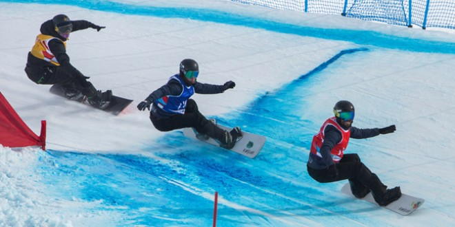 Snowboarder ciucan, calificat la Youth Olympic Games