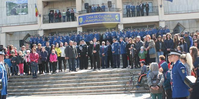 În premieră: Ziua Jandarmeriei Române, sărbătorită la Topliţa