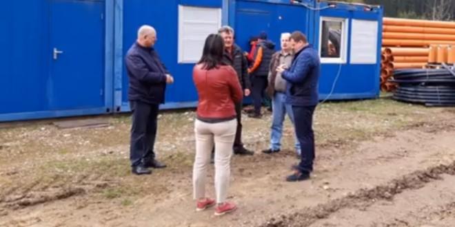 Bălan: Lucrările la reţeaua de apă-canal sunt în plină desfăşurare