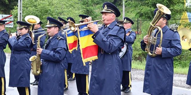 <h5><i>Cu prilejul aniversării a 188 de ani de la înființarea Muzicii Militare, luni, 1iulie:</i></h5>Concert de fanfară la Miercurea Ciuc