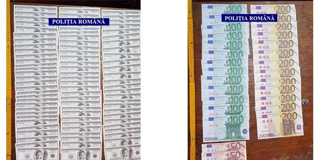 Investigații și o percheziție, într-un dosar de falsificare de  bancnote