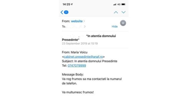 Atenție! Emailuri false în numele ANAF!