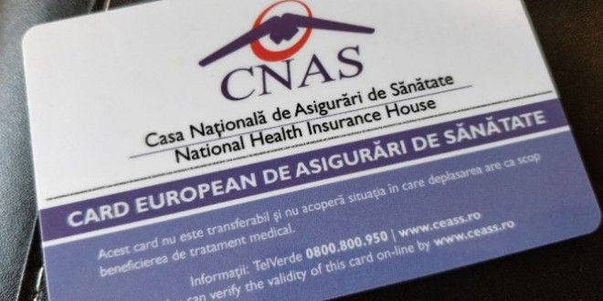 A fost reluată tipărirea şi distribuţia cardurilor europene de sănătate