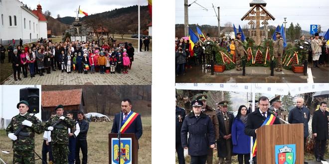 Paradă militară în comune din nordul judeţului