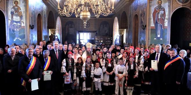 Ordine, diplome și distincții la hramul istoric al Catedralei Episcopale
