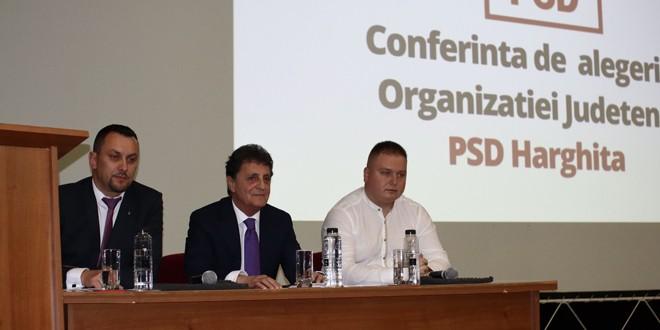 Romeo Țepeș-Focșa, ales președinte al organizației județene a PSD Harghita