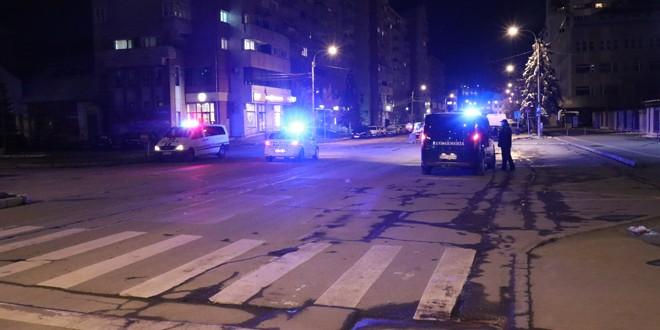 Controale ale poliţiştilor şi jandarmilor harghiteni în prima noapte de aplicare a interdicţiei de circulaţie