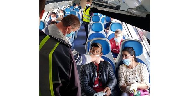 Călătorii, informați despre măsurile obligatorii în timpul deplasării cu trenul