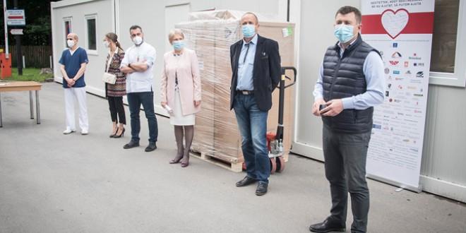 Hotă de biosecuritate donată spitalului județean de Asociația Casin și Asociația pentru Județul Harghita