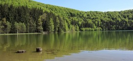 Lacul Sfânta Ana se transformă