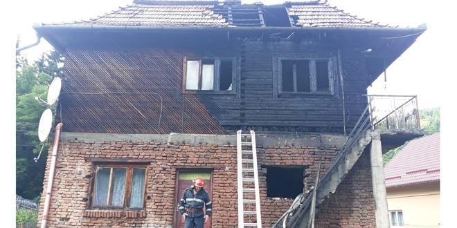 Incendiu la o casă din comuna Corbu