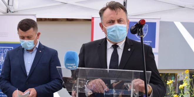 Ministrul Sănătății, Nelu Tătaru: SJU din Miercurea Ciuc – un spital în dezvoltare. (…) Dotarea – și profesionistul – dacă suntem un pic atenți, le putem găsi și în Harghita
