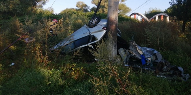Accident mortal pe DJ 137