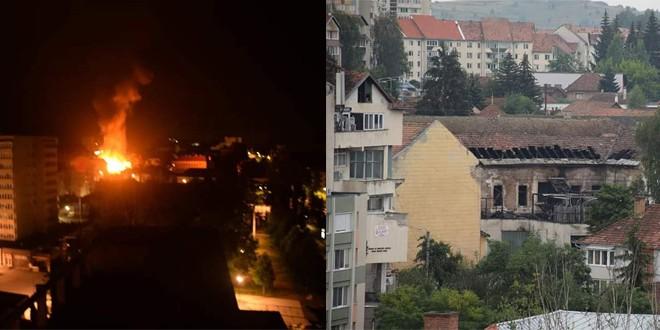 Pagubele incendiului de sâmbătă dimineață de la un club din Miercurea Ciuc au fost evaluate la 100.000 de lei