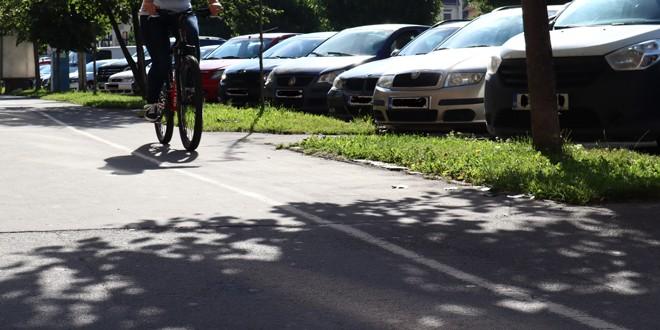 Lungimea totală a pistelor de biciclete din Miercurea Ciuc este de 11 km