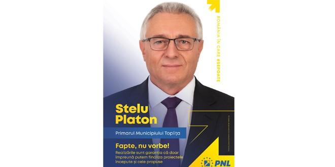 Lupta pentru Topliţa: astăzi, Stelu Platon